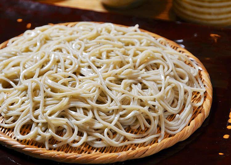 在東京品嚐高級蕎麥麵