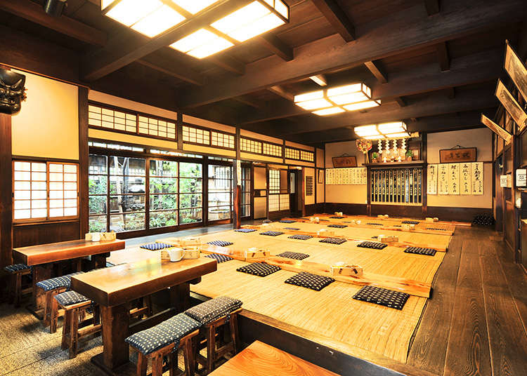 Traditional Japanese cuisine in Tokyo