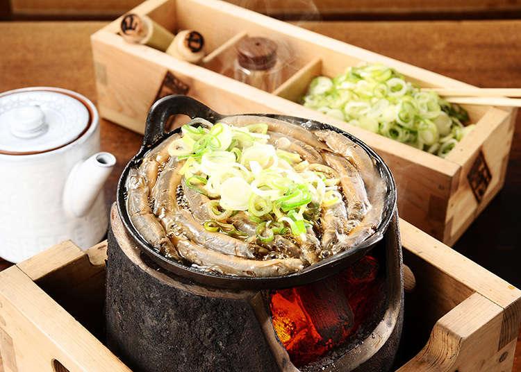 Komakata Dozeu, a long-established loach restaurant in Asakusa