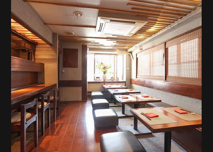 ร้านอาหารจีนที่รับประทานได้ในโตเกียว