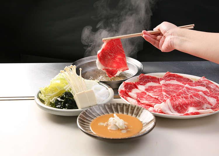「しゃぶせん」のコースで日本を味わう