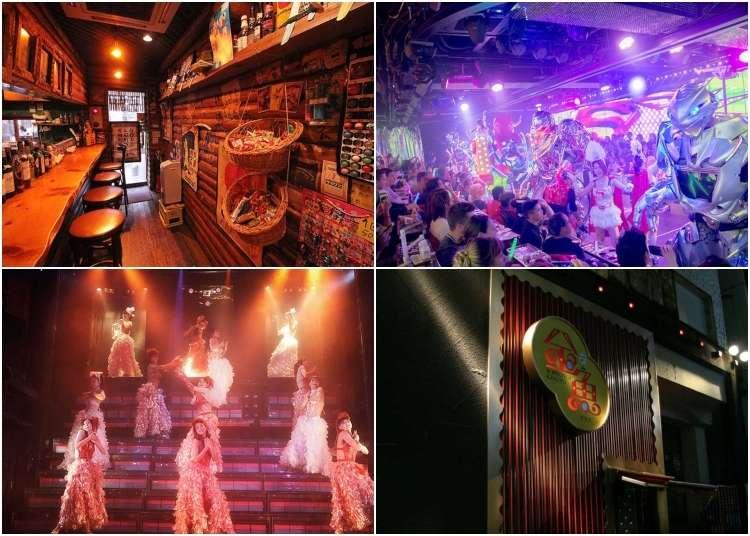 도쿄의 개성 만점 레스토랑