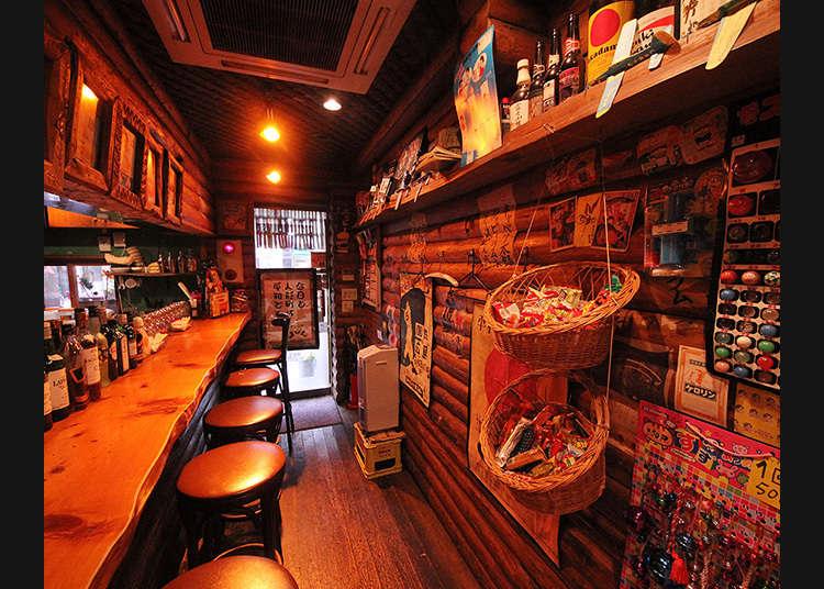'다가시 바'에서 일본인의 향수를 맛보기