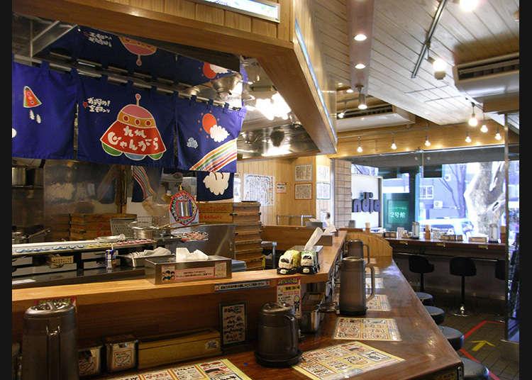 在东京吃猪骨汤拉面