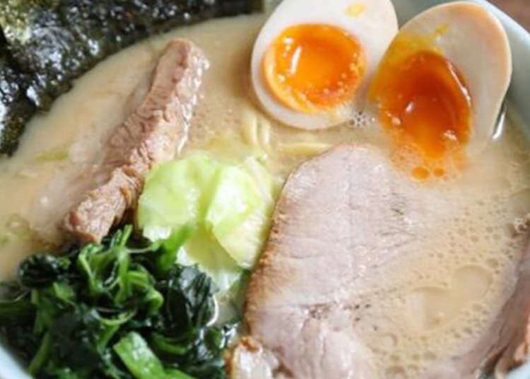 Asakusatai, characteristic rich soup and laver!