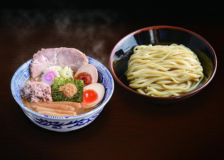 "Kedai ""Rokurinsha"" yang mewakili tsukemen di Tokyo"