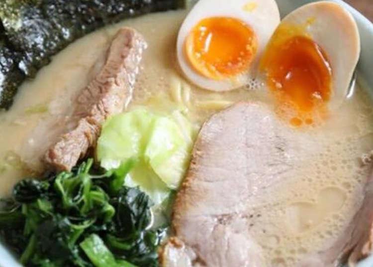 """浓厚的面汤和紫菜很有特点!""""浅草队"""""""