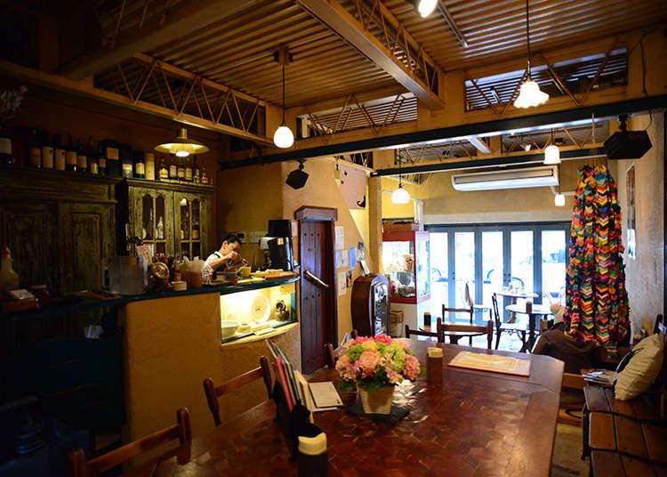 附設倉庫的咖啡廳「Gallery ef」