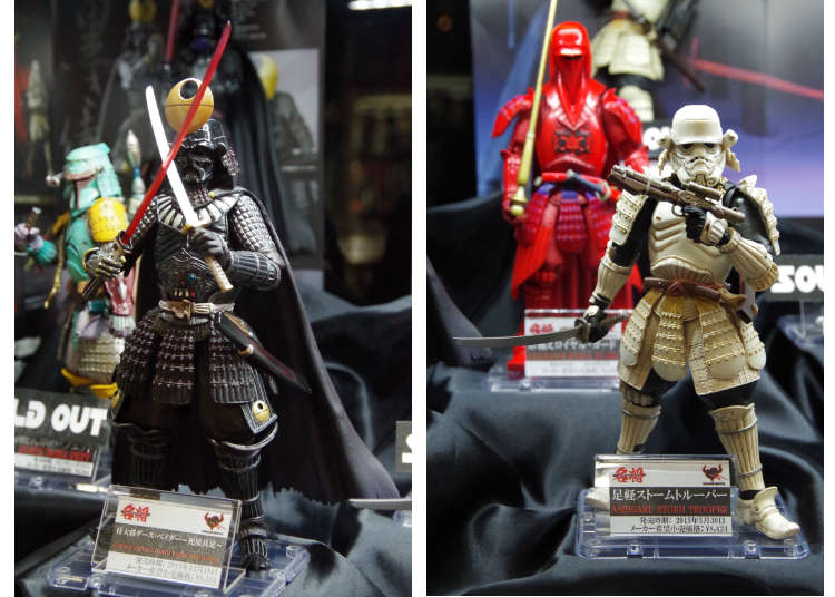 Yamashiroya's Best Japanese Toy: Star Wars Characters!