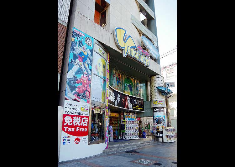 """Yamashiroya "" ขุมสมบัติแห่งสินค้าอนิเมะและสินค้าฮีโร่"