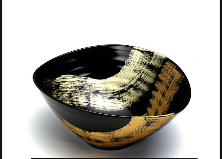 利用漆器将日式的华贵之美融入日常生活中