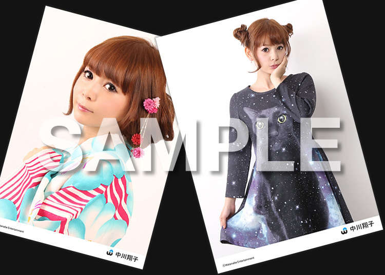 Japanese idols' portrait photo prints