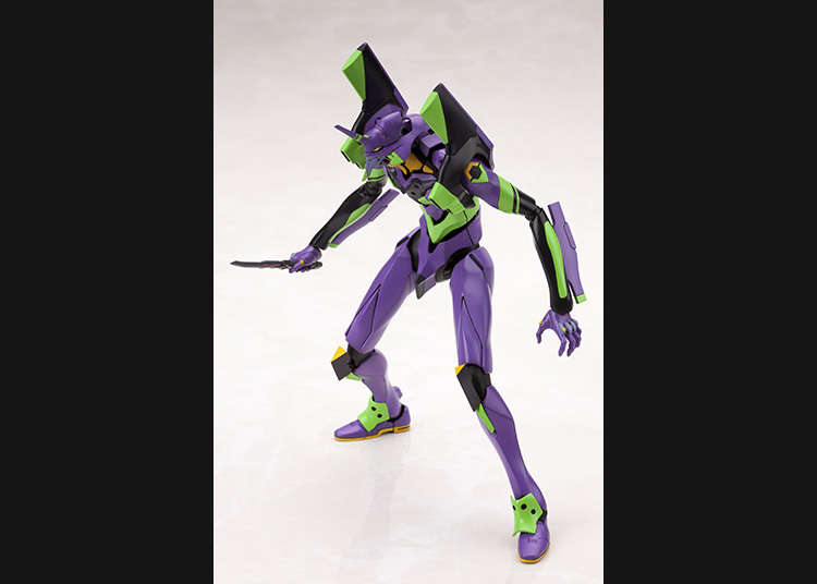 Plastic model of Neon Genesis Evangelion the latest movie version