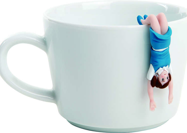 杯子上的缘子小姐系列(扭蛋玩具)