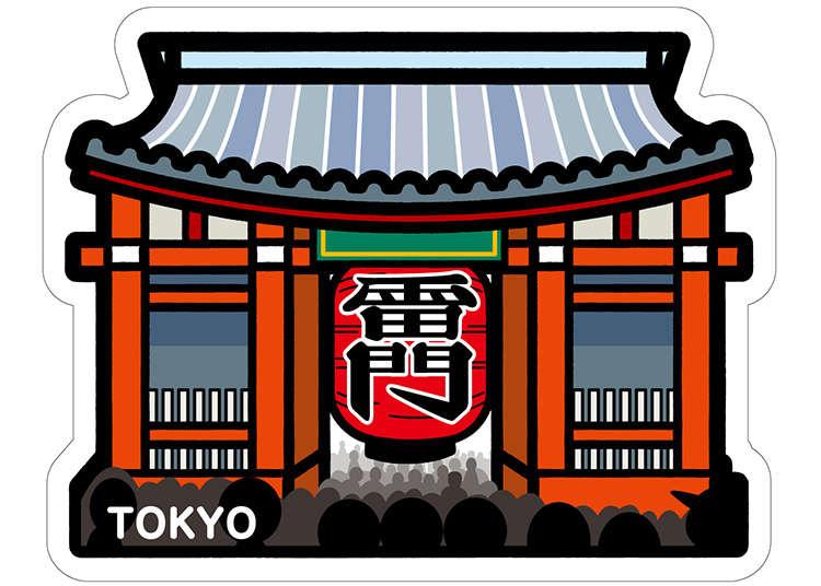 想要買回去的東京限定商品5種