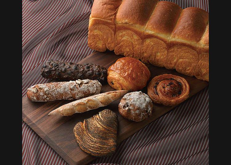 ขนมปังของร้านอาหาร 2 ดาวที่Wakoวางขาย