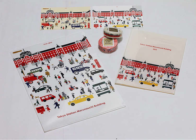 Stationery from the Historic Tokyo Central Post Office