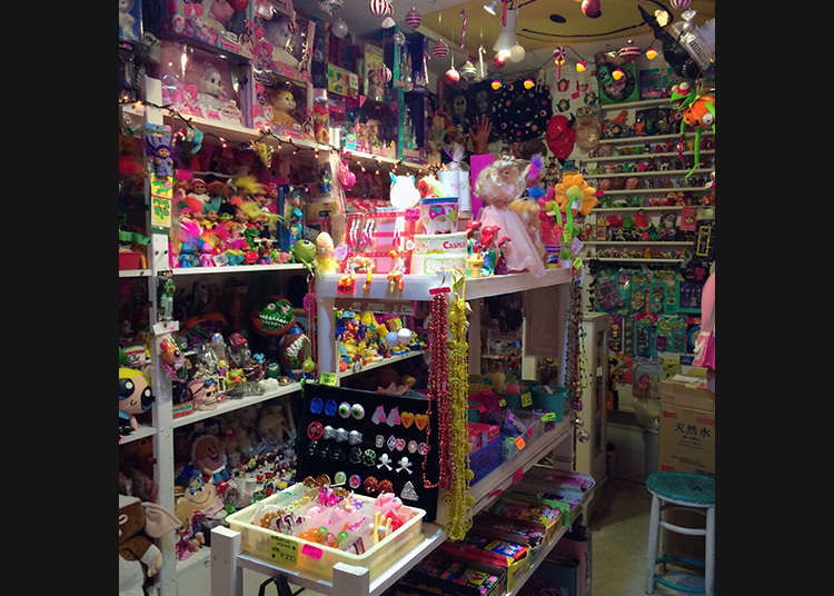 A toy shop for collectors