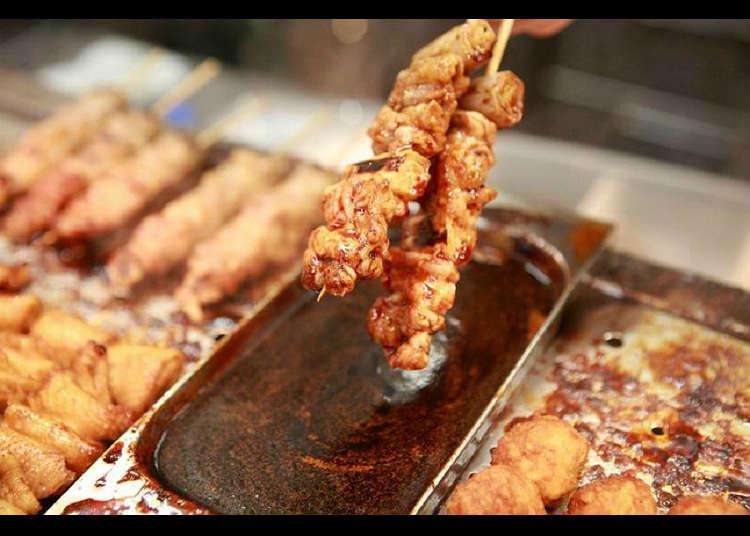 Long established yakitori (grilled chicken) restaurant Tori-Yuu