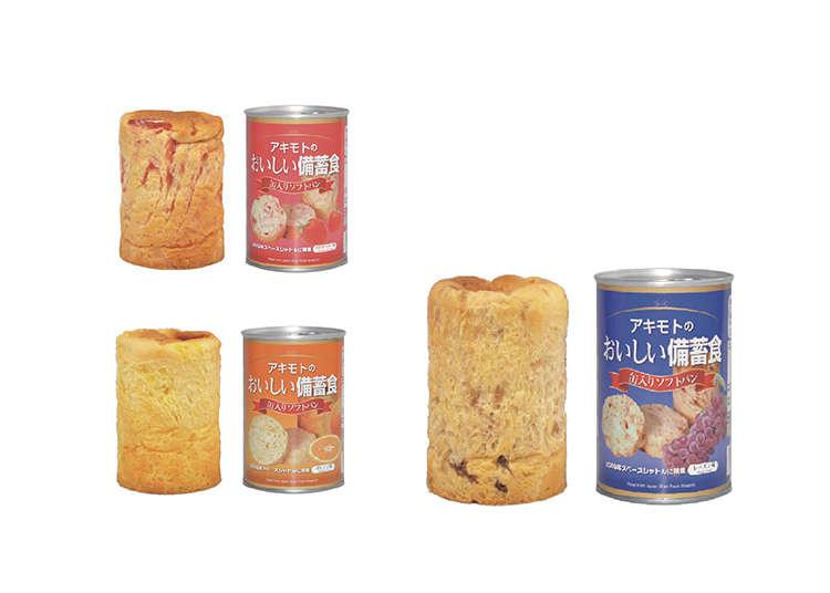 長期保存可能なおいしいソフトパン