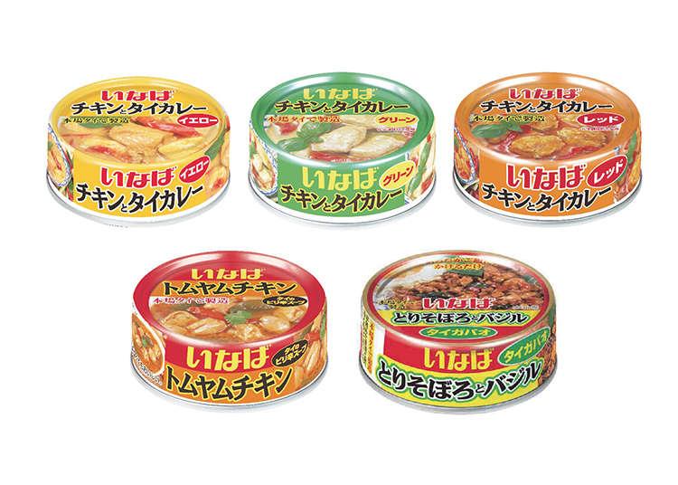 造成熱潮的泰式咖哩罐頭