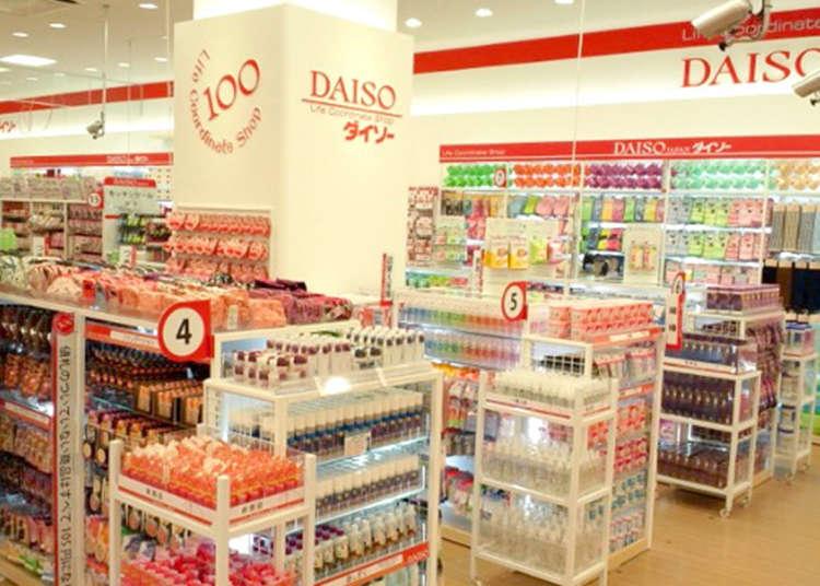 Daiso yang Mewakili Jepang