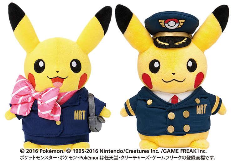 Barang Anime Pokemon yang Dijual Terbatas di Bandara Narita