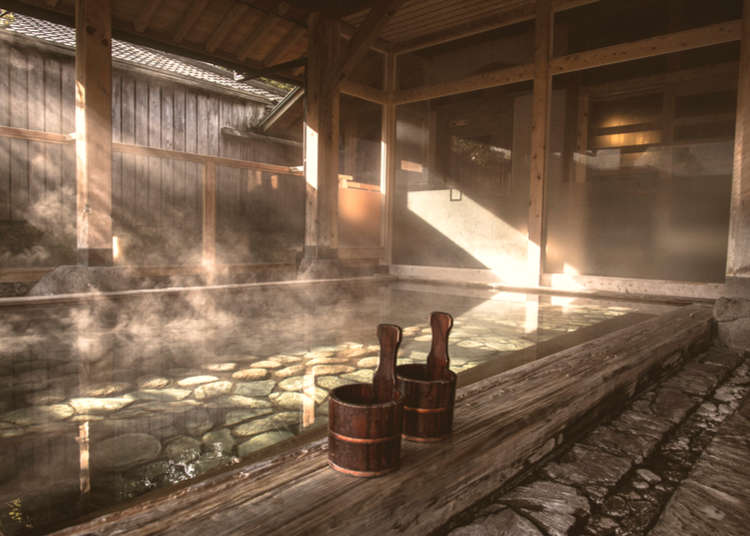 Enjoy hot springs without staying overnight