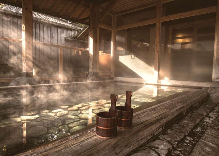 泊まらなくても温泉に入れる施設