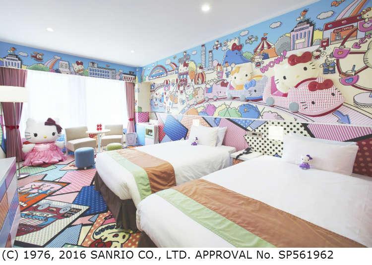 Kamar yang Penuh Daya Tarik Hello Kitty