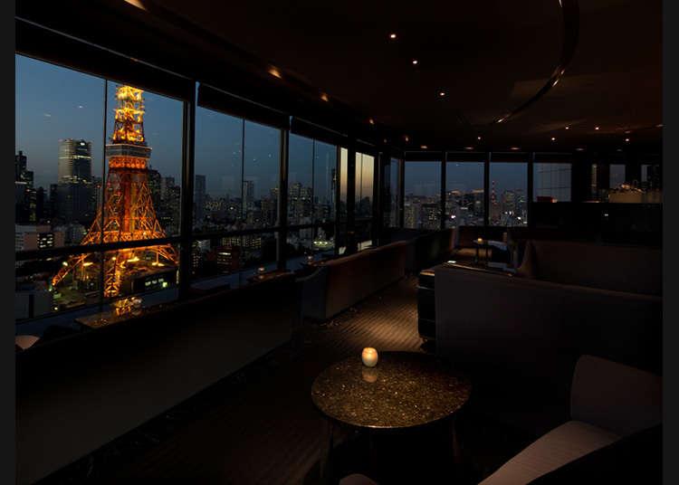 從各式各樣的角度眺望東京鐵塔