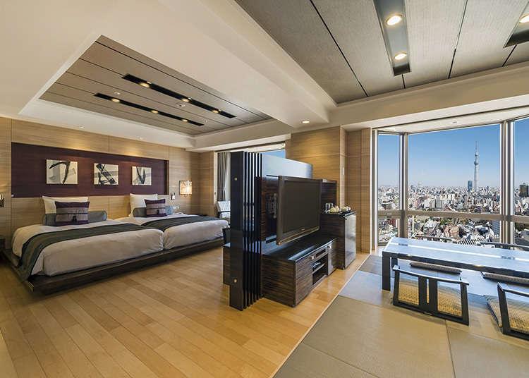 淺草寺與東京晴空塔(R)的完美組合「ASAKUSA VIEW HOTEL」
