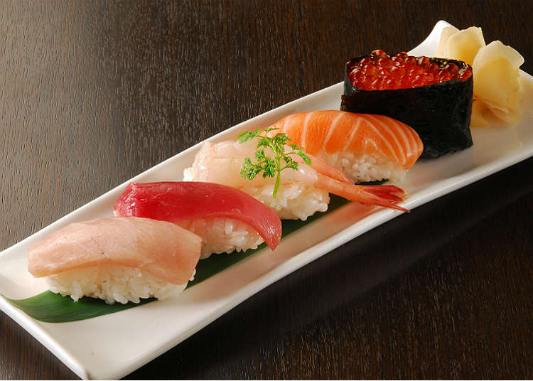12:00 p.m. Enjoy a Japanese style lunch