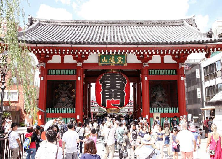4:00 p.m. Ueno and Asakusa