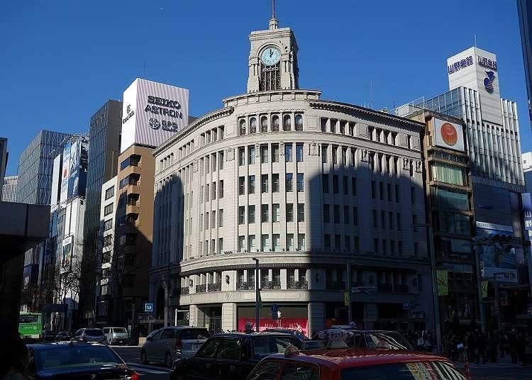 Menuju ke bandar untuk orang dewasa - Ginza