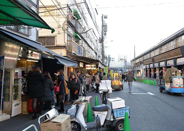 Wisata Kuliner di Tsukiji Outer Market