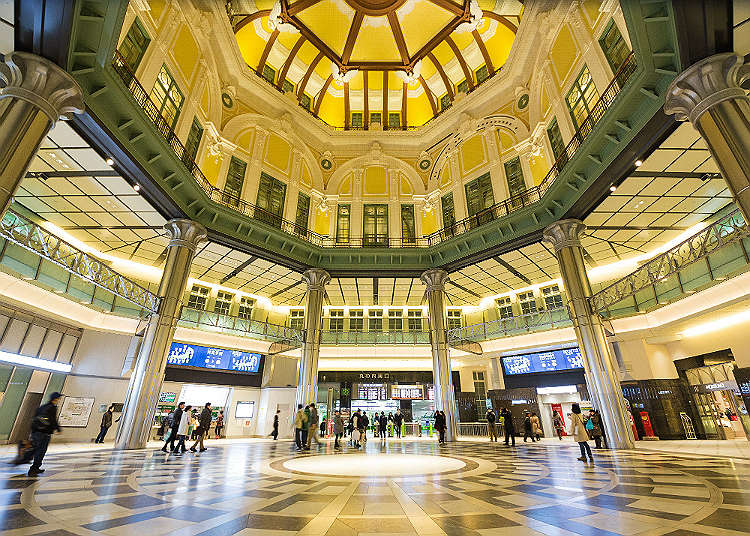 Tokyo Station with full of attractions