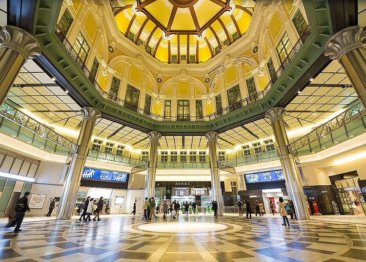 魅力満載の東京駅