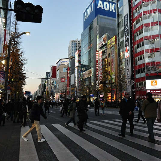 Experience Anime culture and electric appliances. Where to go in Akihabara.