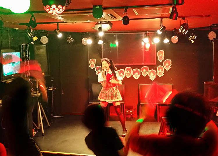 Go to an underground idol concert