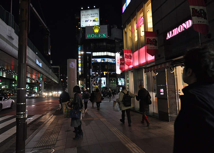 Enjoy the nightlife of Roppongi