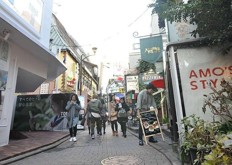 在美麗的小巷子購物吧!