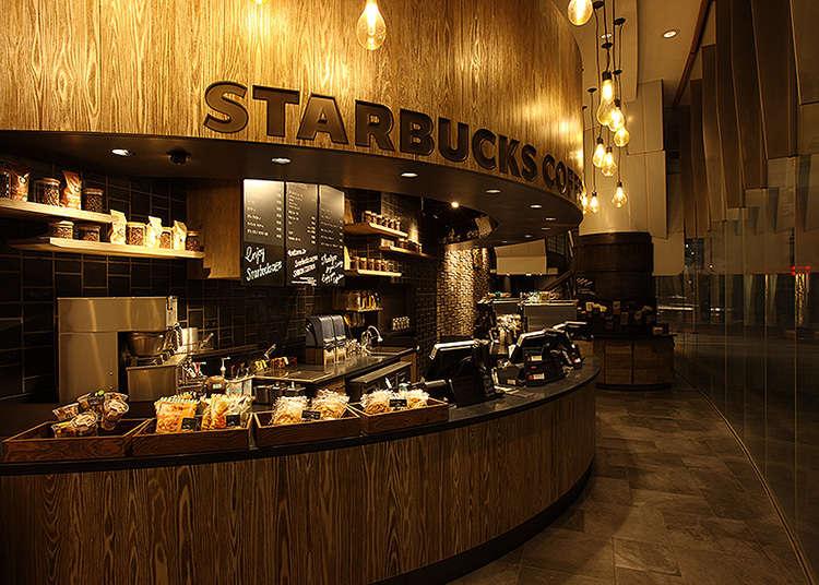 Beristirahat Sejenak di Starbucks Depan Stasiun