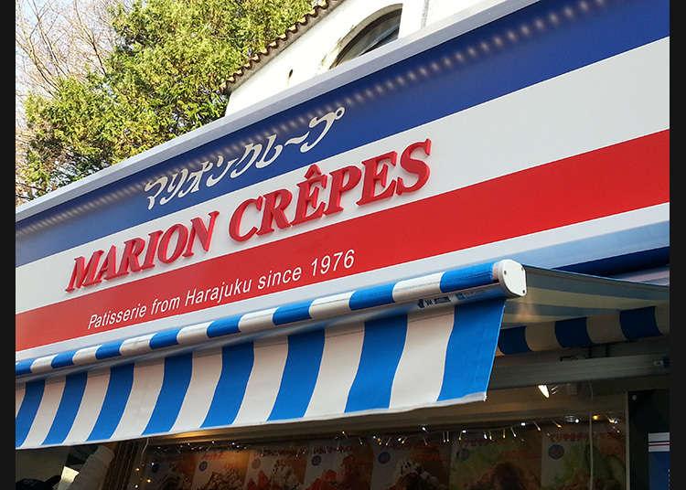 "Jom makan crepe di ""Takeshita-dori"" (Takeshita Street)."