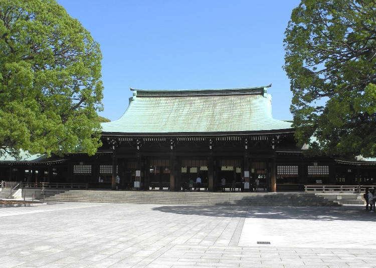 Beribadat di Meiji Jingu (Kuil Shinto Meiji) dengan cara yang betul