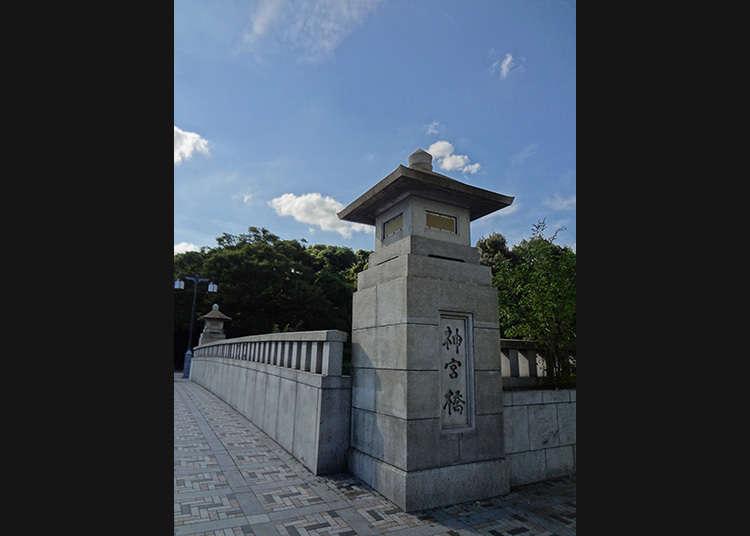 ข้ามสะพานจิงงูบาชิ