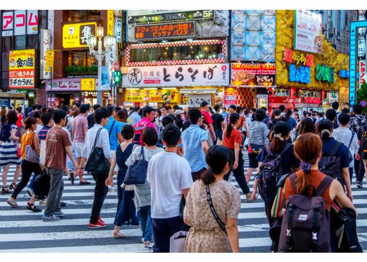 第一次來到新宿就這麼逛吧!