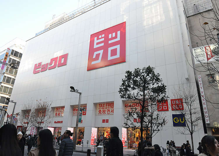 Berbelanja Peralatan Elektronik dan Pakaian Sekaligus