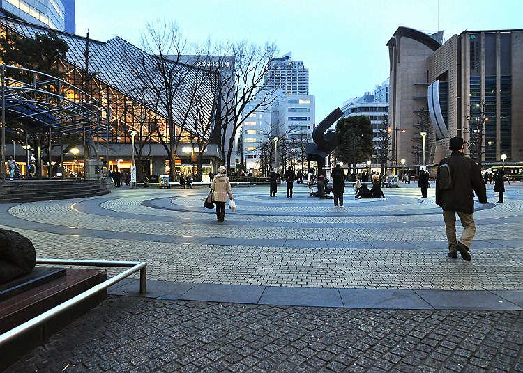 Di sinilah taman Ikebukuro!