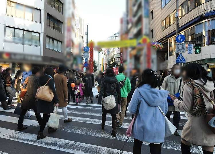 Laluan utama di Ikebukuro